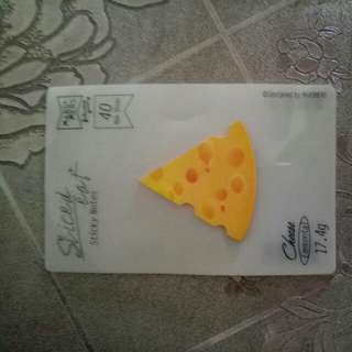 Cheese notepad