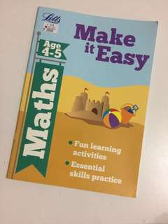 Make it Easy (Maths) Age 4-5