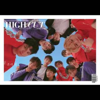 WANNAONE HIGH CUT MAGAZINE