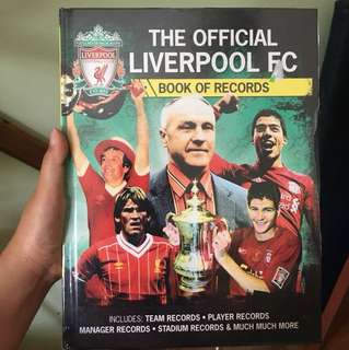 BN The Official Liverpool FC Book of Records