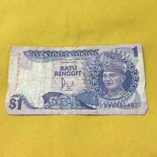 Ringgit Old Rare Notes