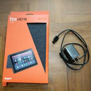 Kindle Fire 10 HD (BRAND NEW) w Cover