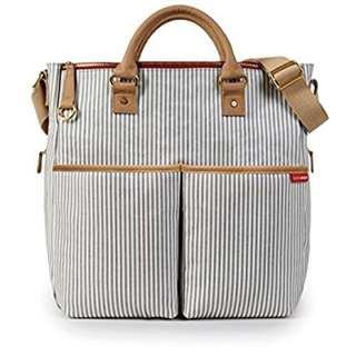 Skip Hop Duo Deluxe Special Edition Diaper Bag (French Stripe)