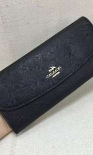 Coach Long Wallet Purse