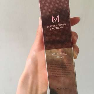 MISSHA M Perfect Cover BB Cream Shade 21