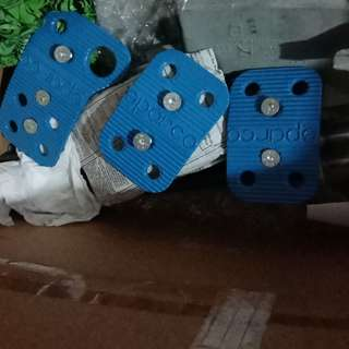 Pedal SPARCO made in italy