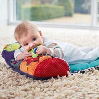 Baby mat and pillow