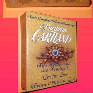 BARBARA CARTLAND THREE COMPLETE NOVELS OF COURTLY LOVE