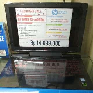 HP OMEN 15 bisa cicilan tanpa kartu kredit free 1X Angsuran