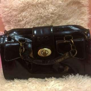 Authentic D&G Patent Handbag