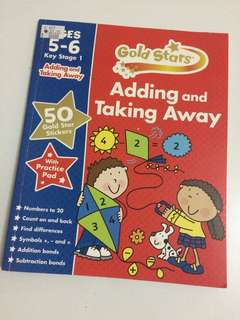 Gold Stars (Adding and Takingg Away) age 5-6