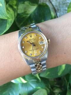Authentic Rolex Datejust Junior