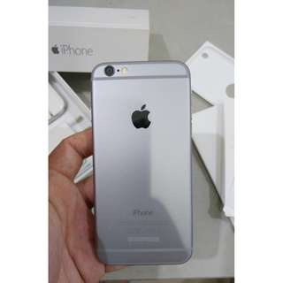 iPhone 6 64 GB (Space Gray) Mulus! Eks Garansi Resmi TRIO (OkeShop)