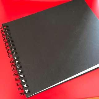 英國製厚紙畫冊(40頁)
