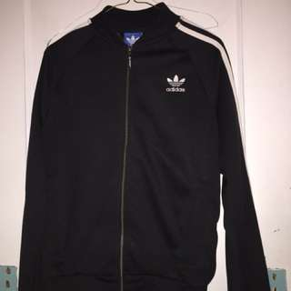 Adidas black and white sweater