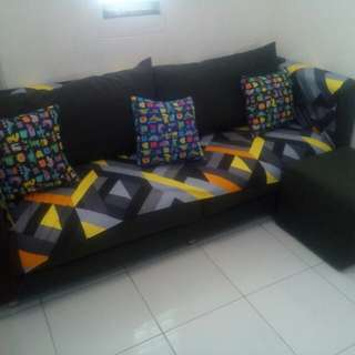sofa grey 3seater