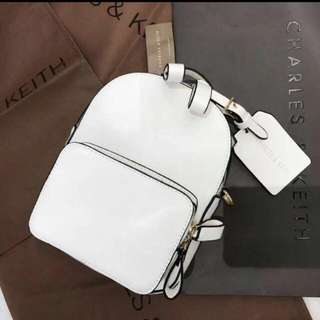 tas charles and keith bag backpack bukan zara ransel