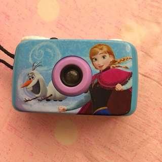Disney frozen manual camera