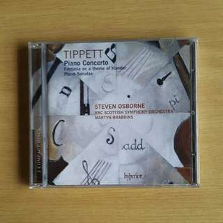 Tippett: Piano Concerto, Sonatas (Steven Osborne)