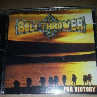 Music CD (Metal): Music CD: Bolt Thrower - For Victory - Earache Records