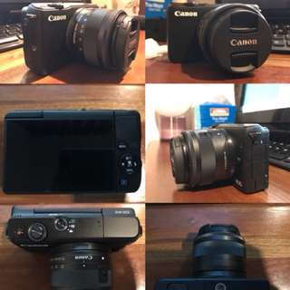 Canon eos m10 with memori