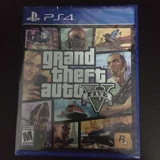 PS4 GTA V (Brand New)
