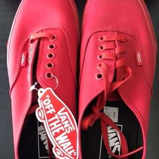 Vans (True Red)