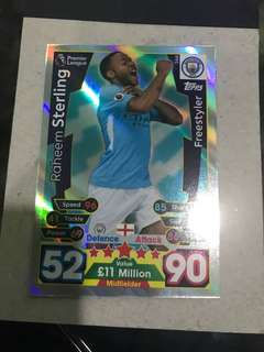Match Attax premier league 17/18