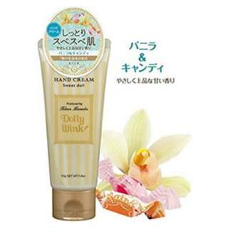 Dolly Wink Sweet Doll Hand Cream In Vanilla & Candy