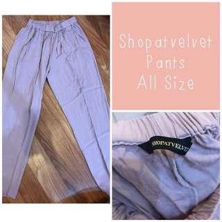 Shopatvelvet Trousers