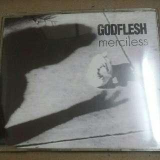 Music CD (Metal, Industrial): Godflesh–Merciless