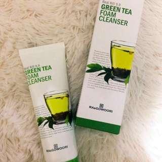 Green Tea Facial Fiam Cleanser
