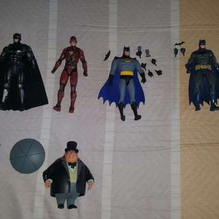 used DC action figures (good condition)