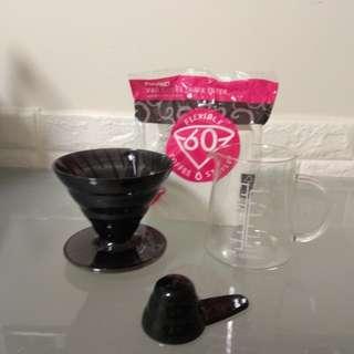 手沖咖啡壺濾紙