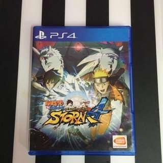 Ps4 game Naruto Ultimate Ninja Storm 4