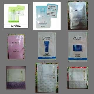 Korean Beauty Product Orig Trial Pack