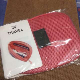 Travel Cable Pouch Wallet Case Organizer