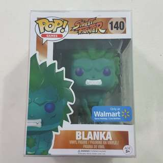 Legit Brand New With Box Funko Pop Games Street Fighter Blanka Walmart Exclusive