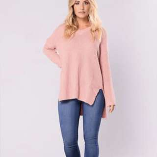 Fashion nova oversized sweater