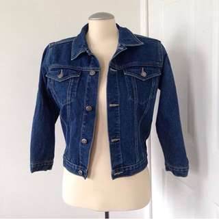 Roots jean jacket