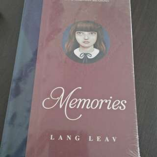 Memories by Lang Leav (STILL SEALED, HARD BOUND)