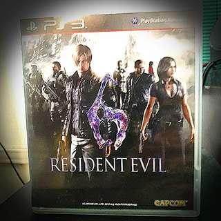 PS3 @ Resident Evil 6
