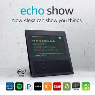 Amazon Echo Show with Alexa Smart Home Automation Voice Control