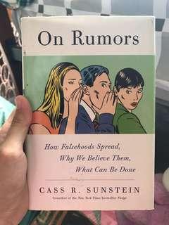 On Rumours