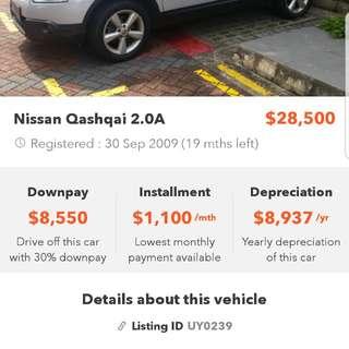Nissan Qashqai 2.0 Auto Premium