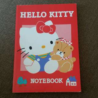 Sanrio 絕版 小型 notebook 1994