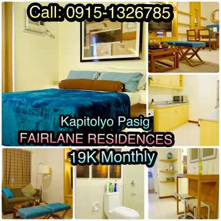 19K Condo for Sale in Kapitolyo Pasig
