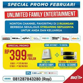 Wifi internet bolthome unlimited
