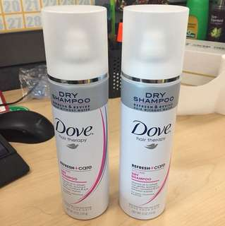 Dove Hair Therapy Dry Shampoo Refresh + Care Invigorating