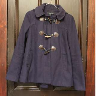 Forever New Navy Duffle Coat